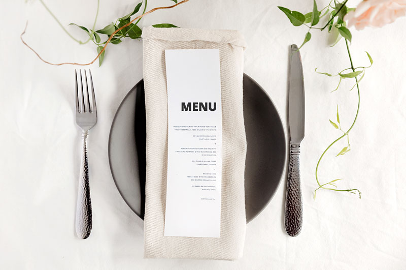 Function and party menus.